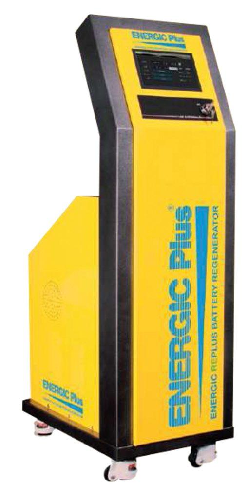regenerace baterie - regenerator